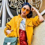 Marigold Yellow Oversized Jacket : Colour Forecast 2018
